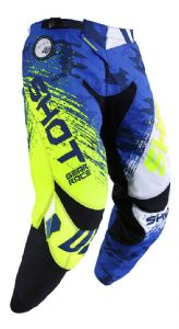 SHOT - Contact Counter Pants - Blue/Yellow